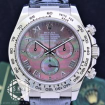 Rolex Daytona White gold 40mm Mother of pearl United States of America, New York, NEW YORK
