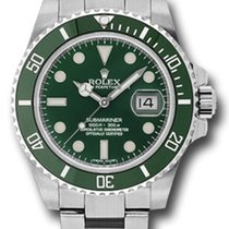 Rolex 116610LV Stål Submariner Date 40mm ny