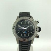Jaeger-LeCoultre Master Compressor Diving Chronograph Titanium 44mm Black Arabic numerals