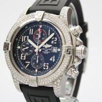 Breitling Super Avenger II neu 2019 Automatik Chronograph Uhr mit Original-Box und Original-Papieren A1337111/BC28/168A