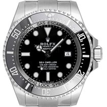 Rolex Sea-Dweller Deepsea Ατσάλι 44mm Μαύρο