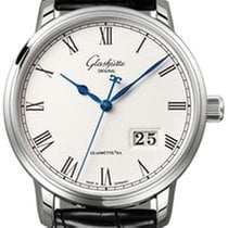 Glashütte Original Senator Panorama Date Steel 40mm Silver Roman numerals United States of America, Florida, Miami