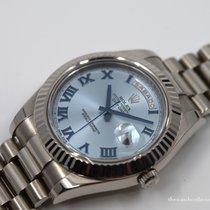 Rolex Day-Date II Bleu