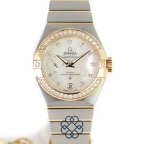 Omega Constellation Petite Seconde Gold/Steel