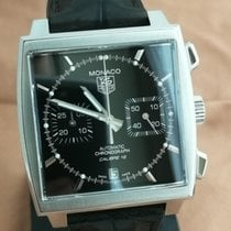 TAG Heuer Monaco Calibre 12 CAW2110.FC6177 Very good Steel 39mm Automatic