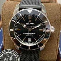 Breitling Superocean Héritage II 46 Zeljezo 46mm Crn Bez brojeva
