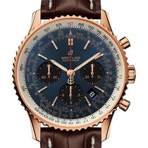 Breitling RB0121211C1P2 Rose gold 2020 Navitimer 1 B01 Chronograph 43 43mm new