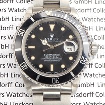 Rolex Submariner Date Steel 40mm Black No numerals