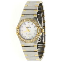 Omega Constellation Gold/Steel 23mm Mother of pearl United States of America, New York, New York