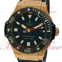 Hublot Rose gold Automatic Black No numerals 44mm new Big Bang King