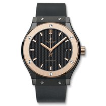 Hublot Classic Fusion 45mm Ceramic & King Gold Watch