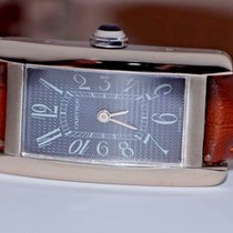 Cartier Tank Américaine White gold 19mm Grey Arabic numerals United States of America, New York, Greenvale