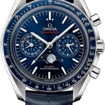 Omega Speedmaster Professional Moonwatch Moonphase Steel 44.2mm Blue United States of America, New York, Airmont