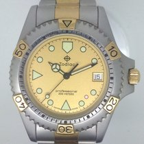 Zodiac Steel 40mm Quartz 206.12.02 new