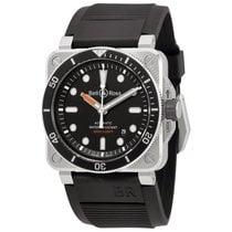 ベルアンドロス (Bell & Ross) Men's BR0392-D-BL-ST/SRB Diver...