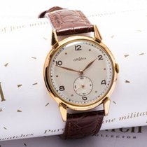 Lemania Gold/Steel 35mm Manual winding pre-owned
