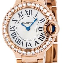 Cartier Ballon Bleu 28mm new Quartz Watch with original box WE9002Z3
