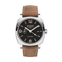 Panerai Luminor 1950 neu 2021 Handaufzug Uhr mit Original-Box und Original-Papieren PAM 00557