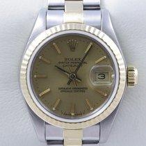 Rolex Lady Datejust Stahl Gold Bicolor Datum Quickset Oysterband