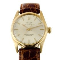Rolex Oyster Perpetual 18ct Gold Automatic Mid-size 31mm from...
