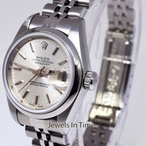 Rolex Ladies Datejust Stainless Steel 26mm Jubilee Silver Dial...