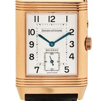 Jaeger-LeCoultre   A Pink Gold Rectangular Reversible Double...