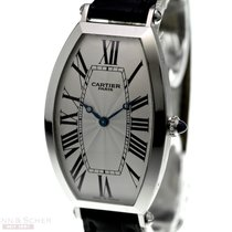 Cartier TONNEAU Mecanique Collection Privee 950 Platinum...
