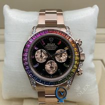 Rolex NEW Everose Gold Daytona Rainbow 116595RBOW