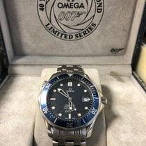 Omega Seamaster Diver 300 M Aço 41mm Azul Sem números