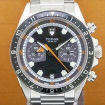 Tudor 70330 Heritage Chronograph Grey Dial SS / SS (29996)