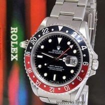 "Rolex GMT-Master Stainless Steel ""Coke"" Watch & Box U 16700"