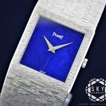 Piaget 23mm Manual winding pre-owned Blue