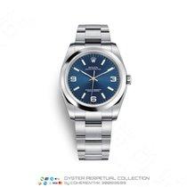 Rolex Oyster Perpetual 36 Сталь 36mm Синий Aрабские