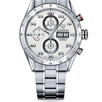 TAG Heuer Carrera Calibre 16 Steel 43mm White Arabic numerals South Africa, Johannesburg