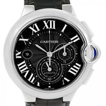 Cartier Ballon Bleu 44mm new Automatic Chronograph Watch with original box and original papers W6920052