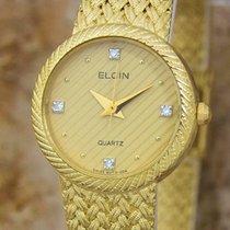Elgin Zlato/Ocel 22mm Quartz použité