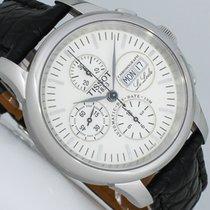 Tissot gebraucht Automatik 42mm Weiß Saphirglas