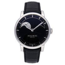 Arnold & Son HM Perpetual Moon Steel 42mm Black No numerals United States of America, Pennsylvania, Bala Cynwyd