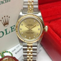 Rolex Oyster Perpetual 26 Acero Oro Sin cifras