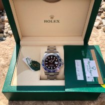 Rolex GMT-Master II Steel 40mm Black No numerals United States of America, Illinois, Springfield