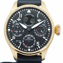 IWC Big Pilot Rose gold 46mm Black Arabic numerals Singapore, Singapore