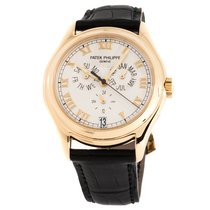 Patek Philippe Annual Calendar Yellow gold 37mm White Roman numerals