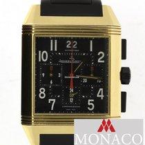 Jaeger-LeCoultre Reverso Squadra Chronograph GMT Ouro rosa 35mm Preto Árabes