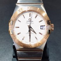 Omega Constellation Men Золото/Cталь 38mm Cеребро