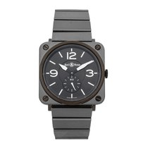 Bell & Ross Ceramic Quartz Black Arabic numerals 39mm pre-owned BR S