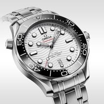 Omega Seamaster Diver 300 M Steel 42mm White United States of America, Georgia, Alpharetta