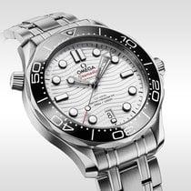 Omega Seamaster Diver 300 M nuevo 2020 Automático Reloj con estuche y documentos originales 210.30.42.20.04.001