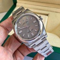 Rolex Oyster Perpetual 36 Steel 36mm Grey Arabic numerals