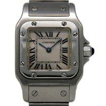 Cartier Santos Galbée W20056D6 1996 pre-owned