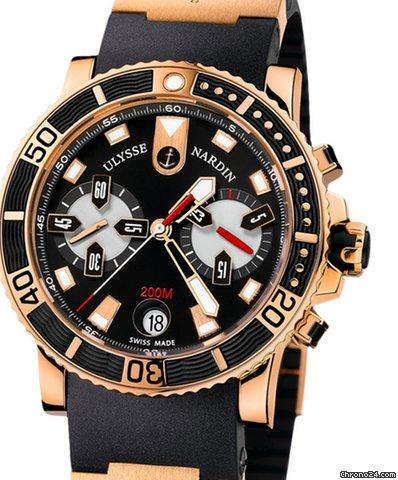 Ulysse Nardin Maxi Marine Diver 8006-102-3A/92 pre-owned